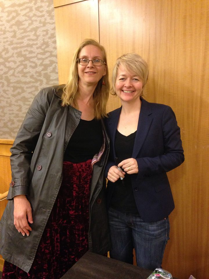 meeting Sarah Waters