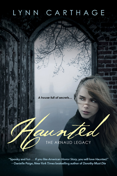 cover HAUNTED DP quote