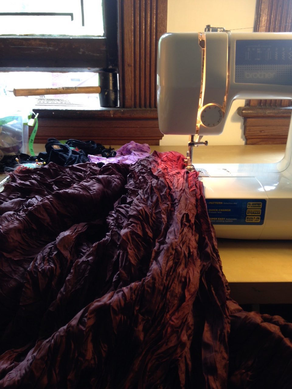 sewingthegown